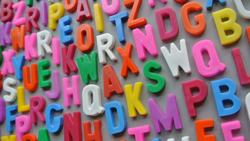 alfabeti fotografici